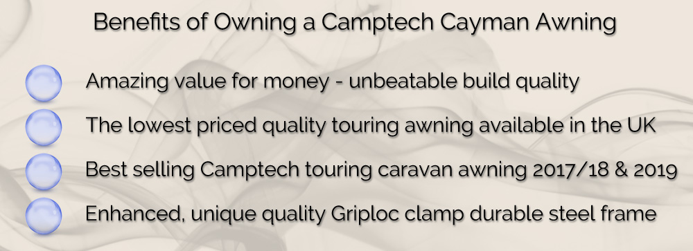 New 2020 Camptech Cayman All Season Full Touring Awning ...