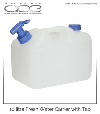 10 Litre Camping Fresh Water Carrier with Tap
