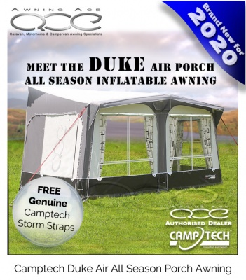 Camptech Duke Inflatable Touring Porch Air Awning