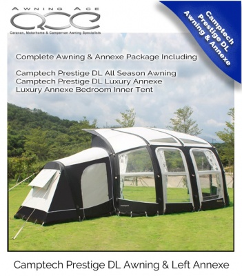 Camptech Airdream Prestige DL Luxury Air Awning Package