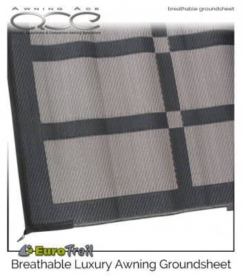 EuroTrail Patio Mat Breathable Awning Groundsheet