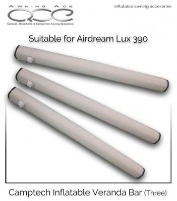 Camptech Veranda Bars for Airdream 390 Awnings (Triple)