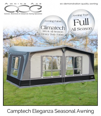 Size 17 Ex Demonstration CampTech Eleganza Seasonal Awning