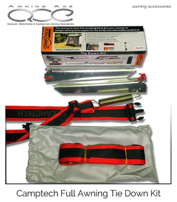 Camptech Full Awning Storm Straps (Pair)
