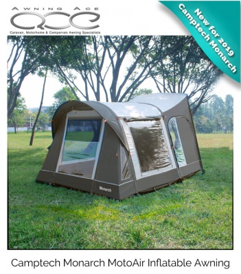 CampTech Monarch MotoAir High Inflatable Awning ExDemo