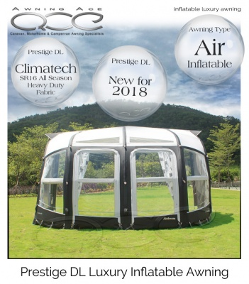 2018 Camptech Airdream Prestige DL Luxury Air Awning