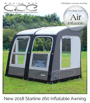 2019 Starline 260 Inflatable Porch Awning