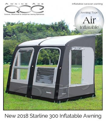 2018 Starline 300 Inflatable Porch Awning