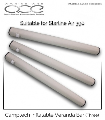 Camptech Veranda Bars for Starline Air 390 Awnings (Triple)