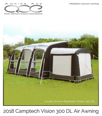 2018 Airdream Vision DL 300 Four Season Inflatable Awning