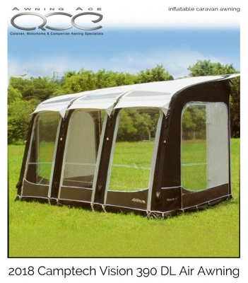 2019 Airdream Vision DL 390 Four Season Inflatable Awning