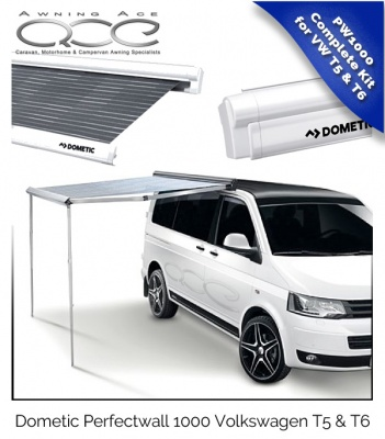 Volkswagen Roll Out Canopy Dometic PW1000 for VW T5 & T6