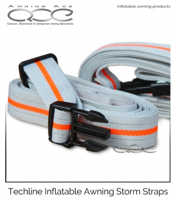 New Camptech Inflatable Awning Storm Straps (Pair)