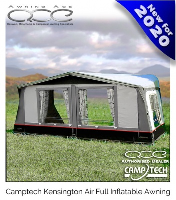 CampTech Kensington Full Caravan Air Awning Size 12 Unique