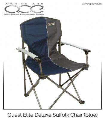 Quest Elite® Deluxe Suffolk Chair (Blue)