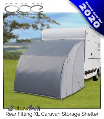 EuroTrail XL Rear Caravan Motorhome Rear Storage Annexe Shelter