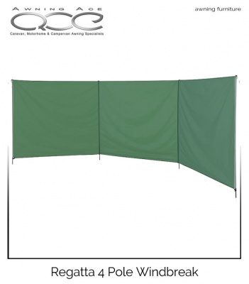 Regatta Awning/Tent 4 Pole Windbreak