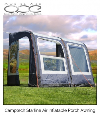 Starline 260 Inflatable Blue Porch Awning (Show Model)