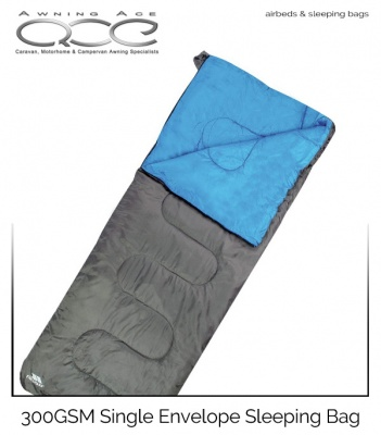 Trespass 300GSM Single Envelope Sleeping Bag