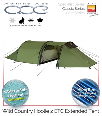 Wild Country Hoolie 2 ETC Performance Tent