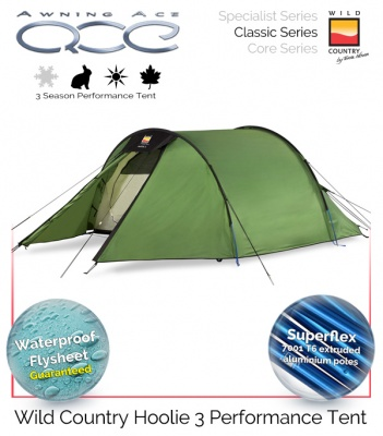 Wild Country Hoolie 3 Performance Tent