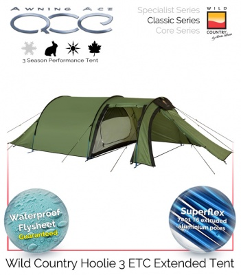 Wild Country Hoolie 3 ETC Performance Tent