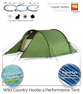 Wild Country Hoolie 4 Performance Tent