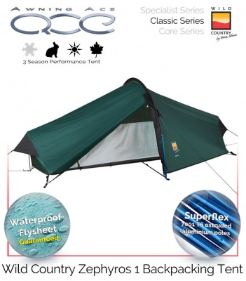 Wild Country Zephyros 1 Performance Tent
