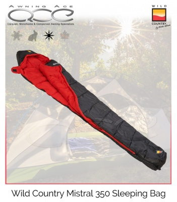 Wild Country Mistral 350 Sleeping Bag