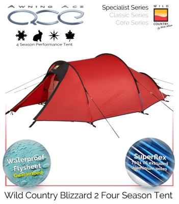 Wild Country Blizzard 2 Specialist 4 Season Tent