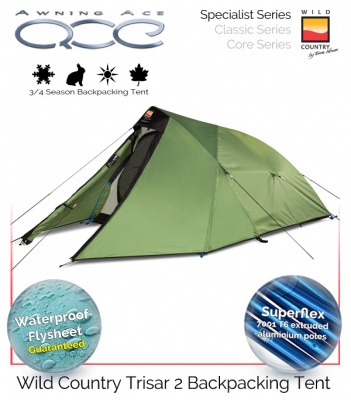 Wild Country Trisar 2 Specialist 3/4 Season Tent