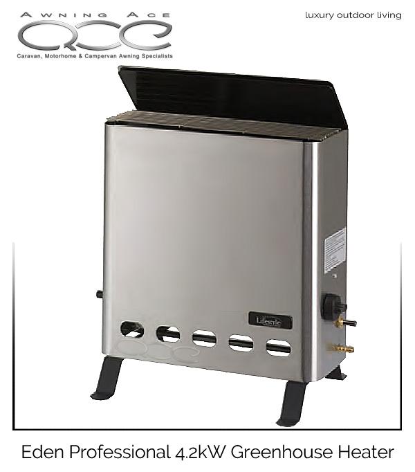 Eden 4 2kw Professional Gas Greenhouse Heater Awningace Com