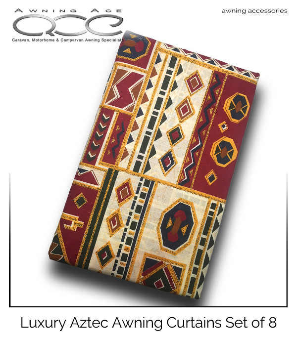 Siesta Aztec Inca Replacement Caravan Awning Curtains