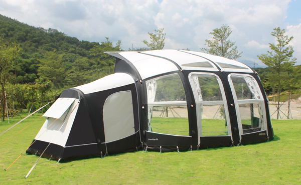 Camptech 2018 Inflatable Prestige DL Air Awning Ace