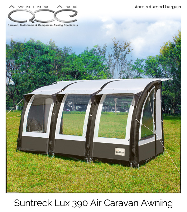 Suntreck Lux 390 Inflatable Caravan Awning Used Heavy Duty Awning