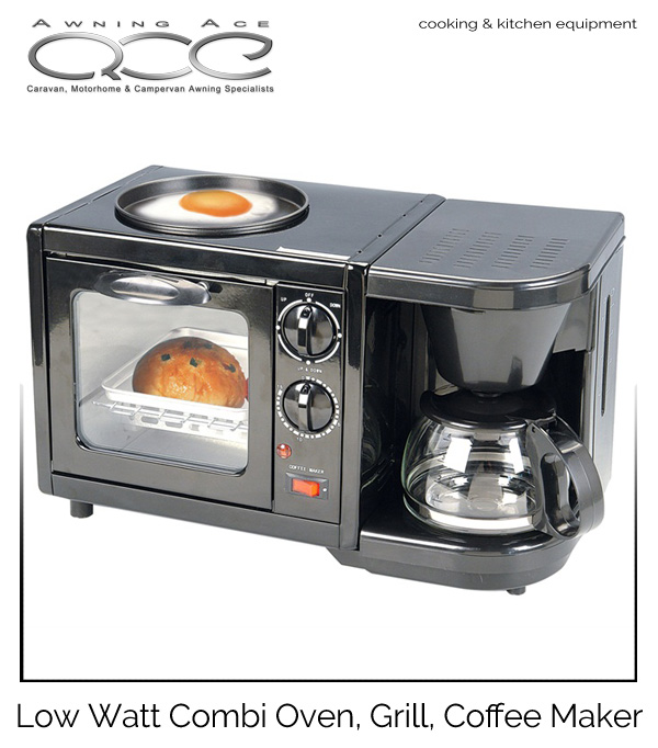 Low Wattage Oven Griddle Coffee Maker Combination