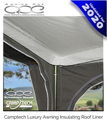 New 2020 Camptech Traditional Awning Roof Liner