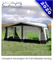 CampTech Kensington Inflatable Full Caravan Air Awning Size 17