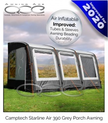 2020 Starline 390 Inflatable Porch Awning Grey