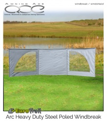 EuroTrail Arc Heavy Duty Windbreak