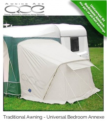 Full Awning Universal Fitting Side Bedroom Annexe with Inner Tent