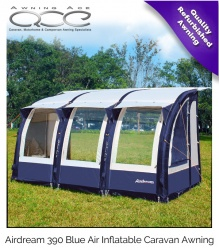 Blue Airdream 390 Air Inflatable Awning (Refurbished)