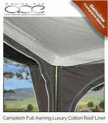 New Camptech Traditional Awning Roof Liner