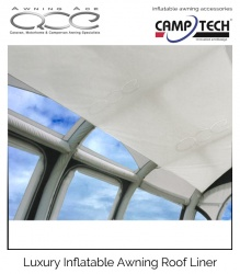 New Camptech Inflatable Awning Roof Liner