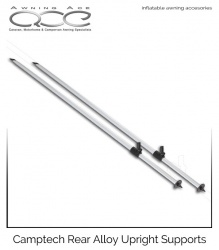 Camptech Rear Upright Alloy Support Poles (Inflatable Awnings)
