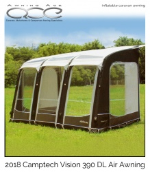 2018 Airdream Vision DL 390 Four Season Inflatable Awning