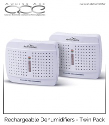 Caravan Dehumidifiers Rechargeable - Twin Pack
