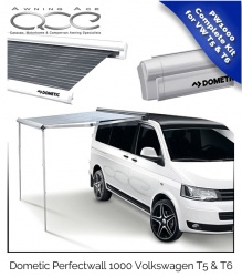 Volkswagen Roll Out Canopy Dometic PW1000 for VW T5 & T6 Silver