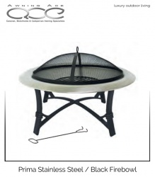 Prima Stainless Steel Fire Pit Bowl
