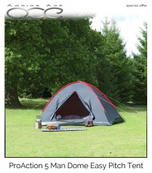 ProAction 5 Man Dome Tent